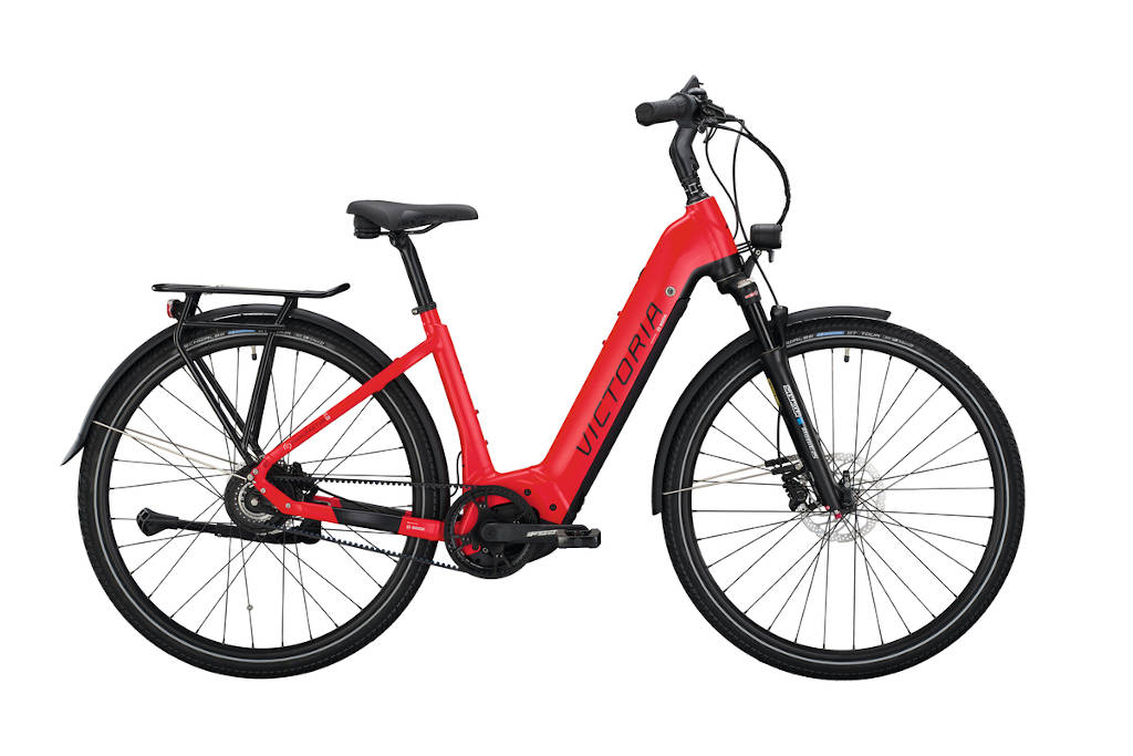 Victoria, Bike, Ebike, rot